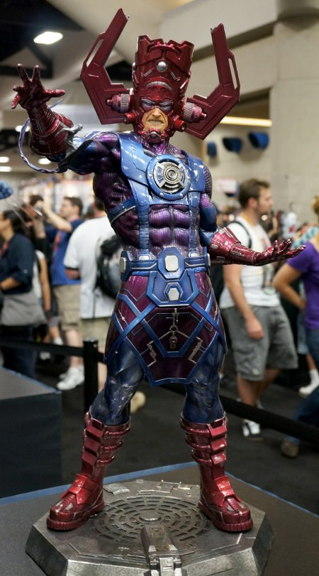 Galactus maquette by Sideshow Collectibles.