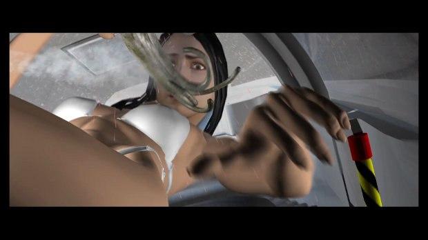 Previs image shows inside the med pod.