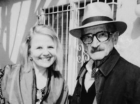 Janeann Dill with Jules Engel, Los Angeles,