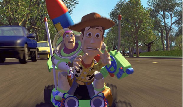 The Toy Story trilogy, beloved by audiences and critics alike, checks in at a total of $852 million dollars. Image © Disney/Pixar.