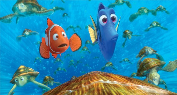 (L-R) Marlin and Dory.