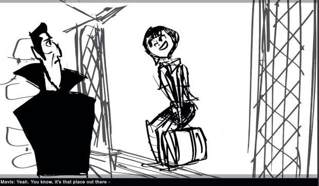 Storyboard panel.