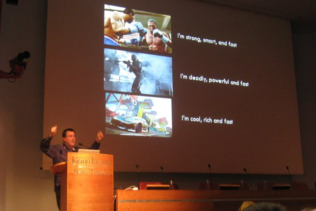 Glenn Entis presenting at VIEW Conference 2011. Glenn will also be presenting in Turin later this month.