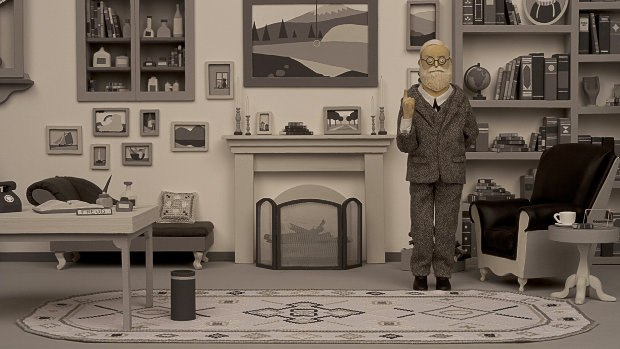 From the Freud scene animated by Sherbet.