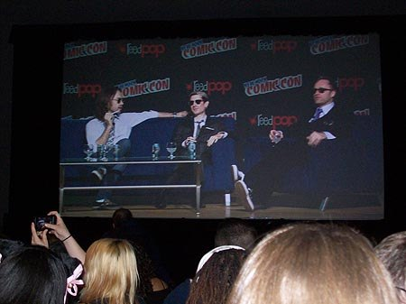 Now appearing on a Jumbotron near you: The Venture Bros.' Paul Boocock, Doc Hammer and Jackson Publick