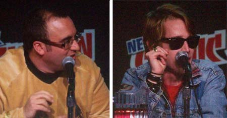The nerd and the cool guy: Robot Chicken's Dan Milano and Macauley Culkin
