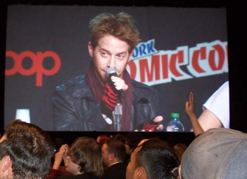 Seth Green towers over Robot Chicken fans