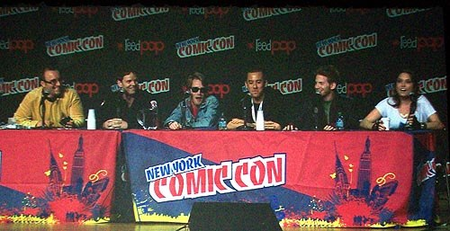 The gang's all here: The Robot Chicken panel