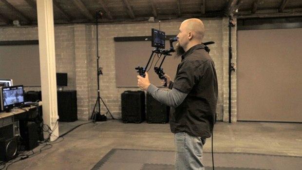 HALON Previsualization & VFX Supervisor Justin Denton at HALON Entertainment's studio.