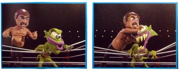 Nick Diamond vs. Zatar the Alien