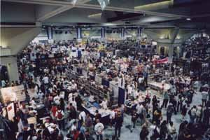 It doesn't get much bigger than the Con! All images are © Comic-Con International, 2001.