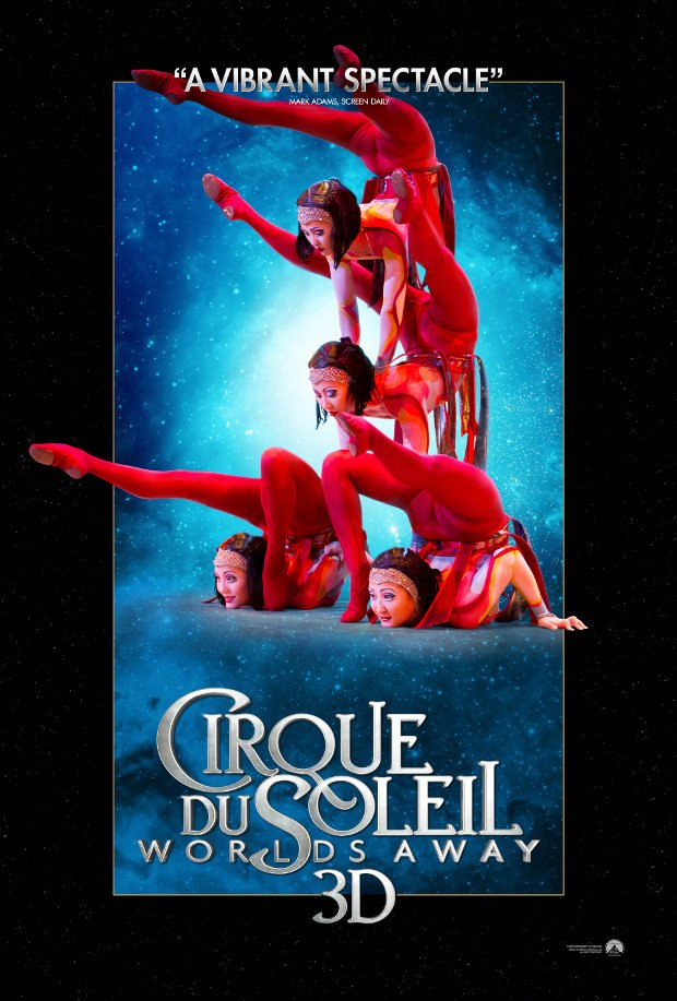 Cirque du Soleil Worlds Away 3D - Contortion