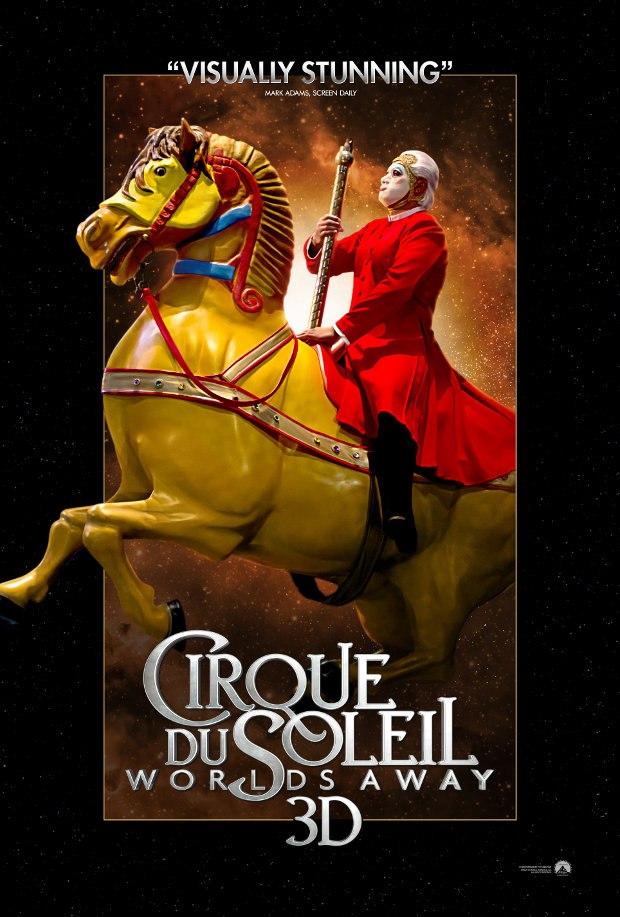 Cirque du Soleil Worlds Away 3D - Horseman