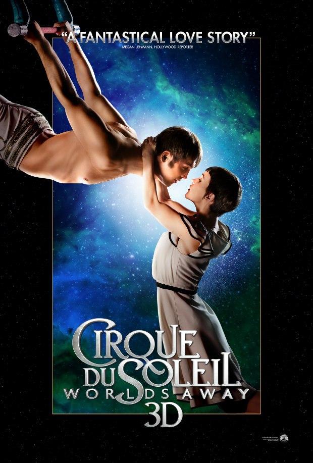 Cirque du Soleil Worlds Away 3D - Trapeze