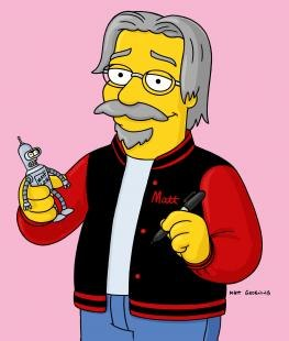 Matt Groening (Image courtesy of Fox)