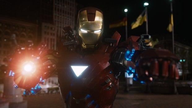 The Avengers. Image courtesy of Weta Digital.