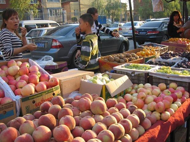 Beautiful fresh produce