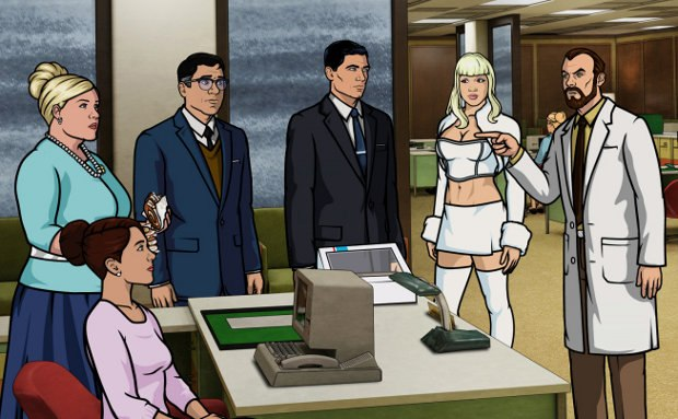 Episode 8, Season 3: Skin Game. Archer is faced with a dilemma when his murdered fiancee, Katya, miraculously reappears.