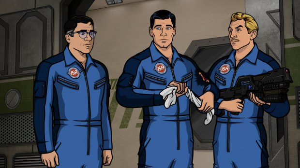 Episode 10, Season 3 Finale: Space Race, Part II. Sterling Archer and his colleagues at ISIS wish they had never voyaged to the final frontier in an effort to prevent a catastrophe on the International Space Station.