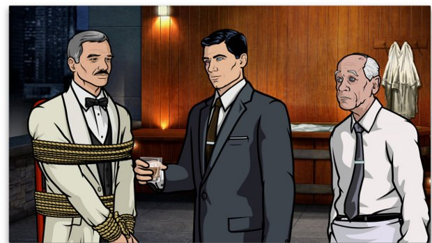Episode 1, Season 3: The Man From Jupiter. Archer is shocked to learn that his mother Malory is dating his idol/hero/man-crush, Burt Reynolds.