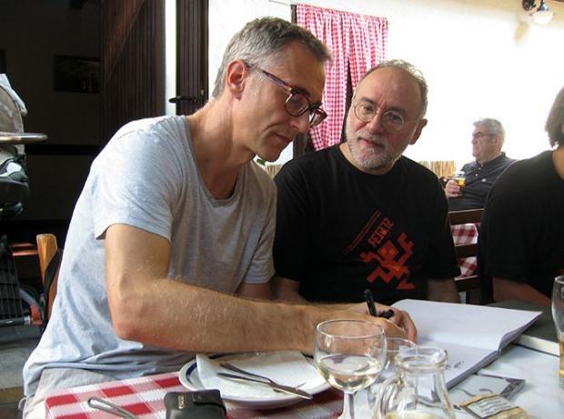 Jozsef Fulop and Ratsko Ćirić