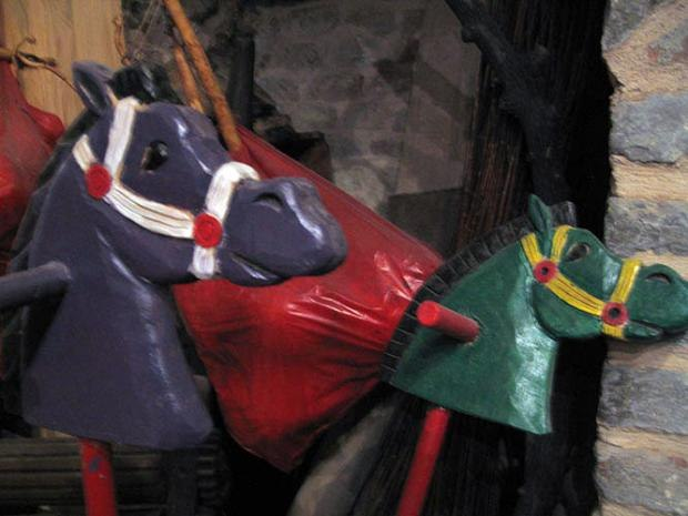 Stick Horses made by Vuk Maksimovic