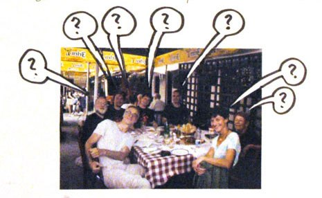 Everyone is eating at The ?; photo - Rastko Ćirić