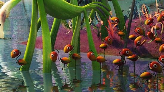Flamangos -- flamingo/mango with leaf wings