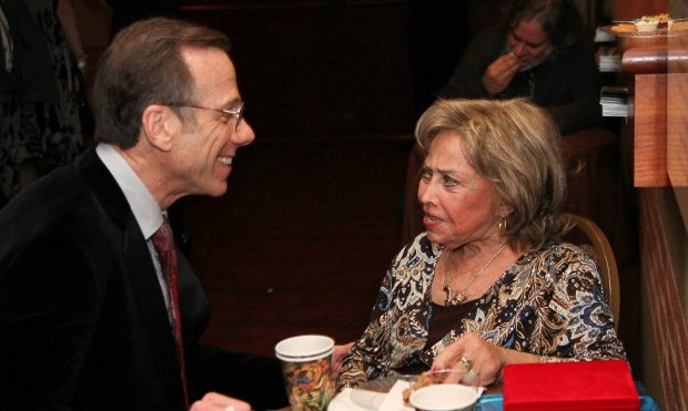 Frank with June Foray at the 2012 awards. Image courtesy of ASIFA-Hollywood.