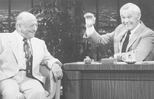 Mel Blanc during an appearance on The Tonight Show with Johnny Carson.