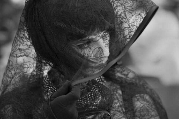 Our heroine's passion is bullfighting in Blancanieves. Image courtesy of Arcadia Motion Pictures.