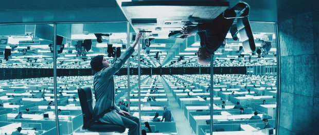 Jim Sturgess as Adam and John MacLaren in Upside Down. Image Courtesy of Millennium Entertainment.