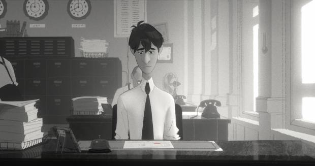 Inside Disney's New Animated Short Paperman