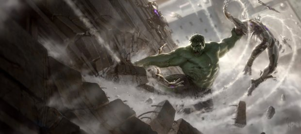 Mark Ruffalo got inspiration from the original Incredible Hulk TV series and his 10-year-old son as a force of nature with regard to temper tantrums.