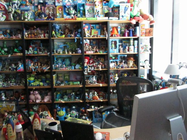 Another shelf of toys.