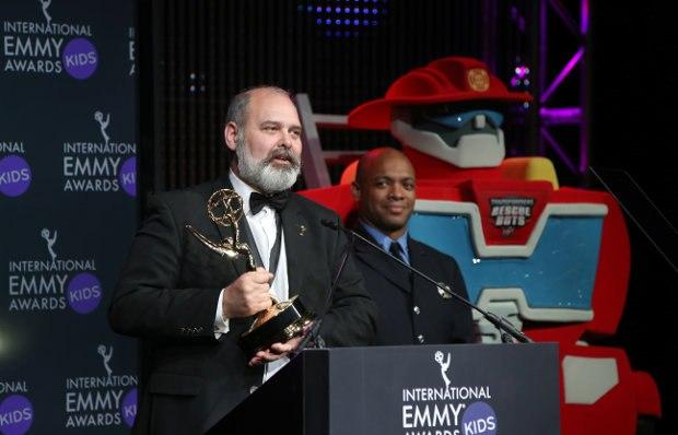 Michael Carrington, executive producer, The Amazing World of Gumball (UK)