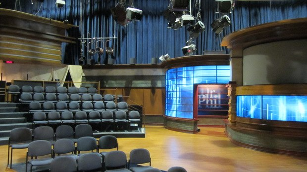 The set of the Dr. Phil Show.