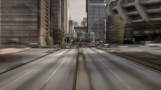 Zooming through the digital city