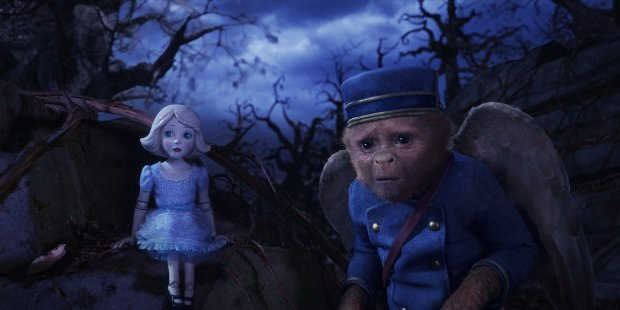 The film's two primary CG characters - China Girl (voiced by Joey King) and Finley (voiced by Zach Braff).
