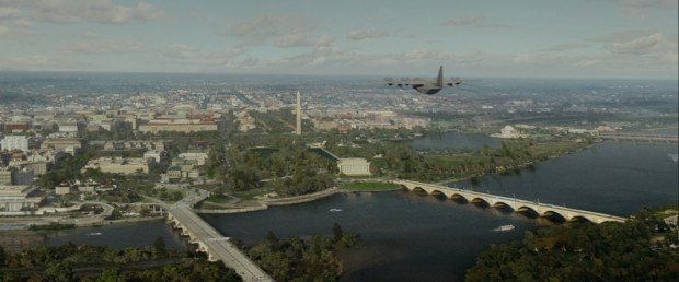 The C-130 attack sequence was one of the first sequences the production focused on.