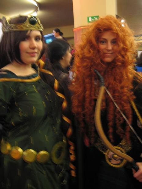 Costumed Cosplayers.