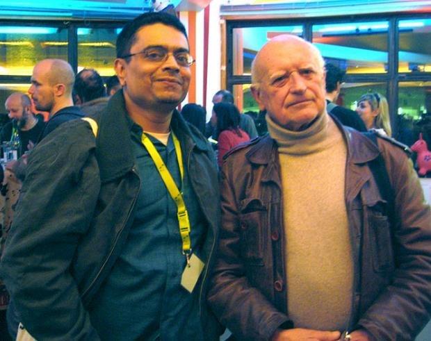 Sekhar Mukherjee with Raoul Servais.