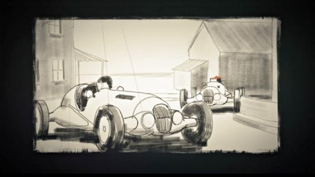 A Racers Sketchbook (Image courtesy Stuttgart Festival of Animated Film)