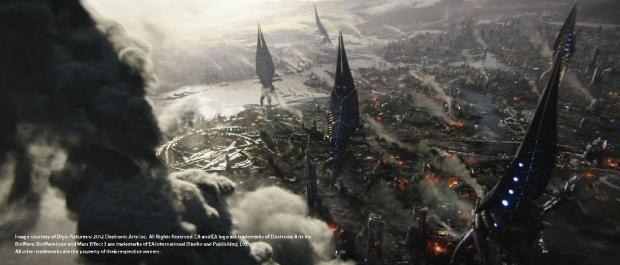 Mass Effect 3 – Take Earth Back (Image courtesy Stuttgart Festival of Animated Film)