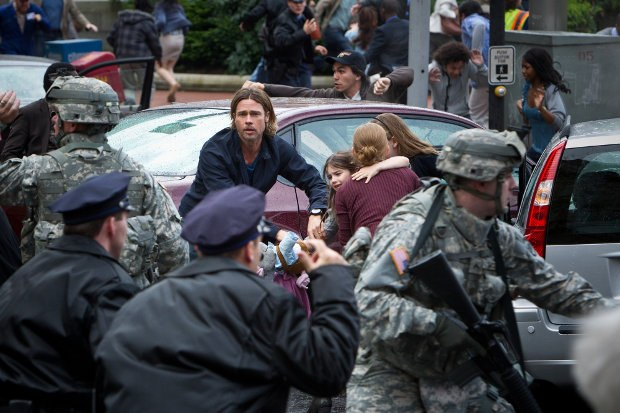 World War Z. Image © 2012 Paramount Pictures. All Rights Reserved.