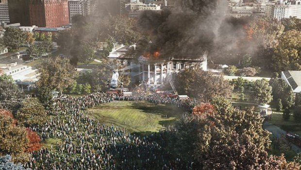 Image Engine - Burning White House flyovers