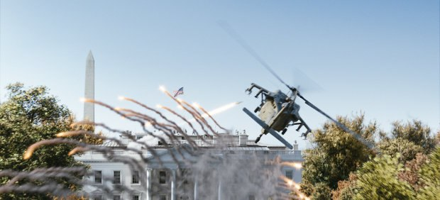 Another major Method sequence was a Black Hawk crash.