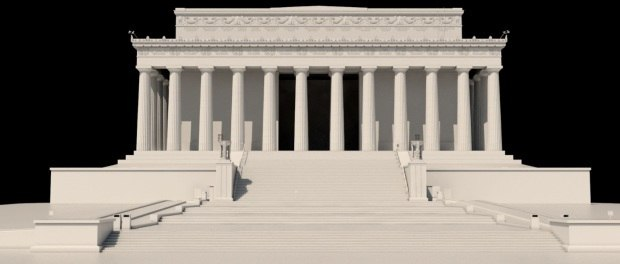 CG LINCOLN MEMORIAL BY LUXX