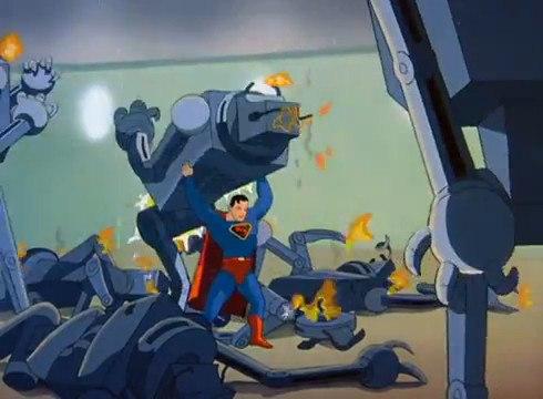 Fleischer Studios 1941 Superman Cartoon - The Mechanical Monsters.
