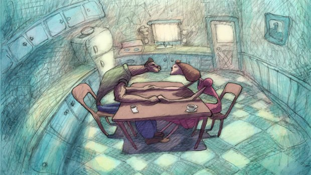 Cheatin', the new animated feature film by Bill Plympton. All images courtesy of Bill Plympton.
